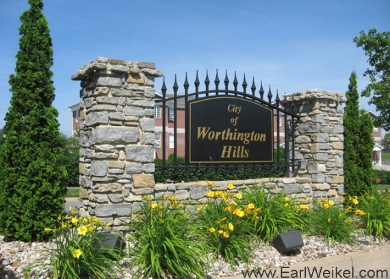 Worthington Hills Louisville KY 40245 Subdivision Homes For Sale off Westport Rd