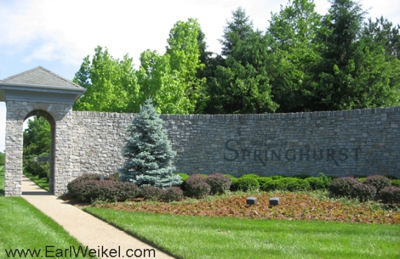 The Villages of Springhurst in East Louisville KY 40241 Houses and Patio Homes For Sale