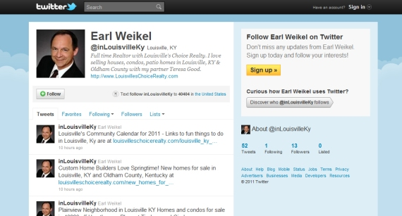 Earl Weikel Louisville KY Homes For Sale on www.twitter.com/#!/inLouisvilleKy