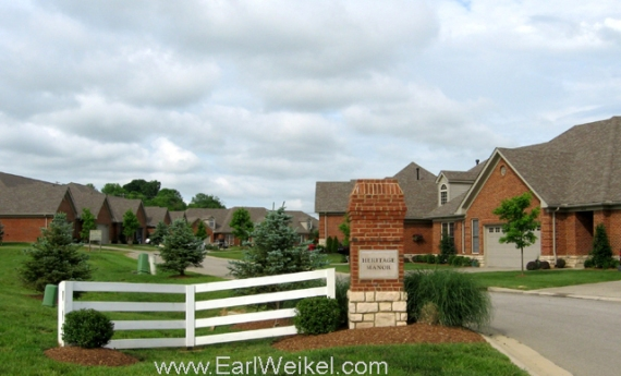 Heritage Manor Condos For Sale Crestwood KY 40014 off Hwy 22