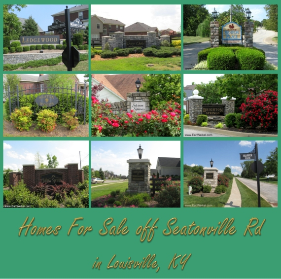 Homes For Sale off Seatonville Rd Louisville KY from Bardstown Rd to I-265