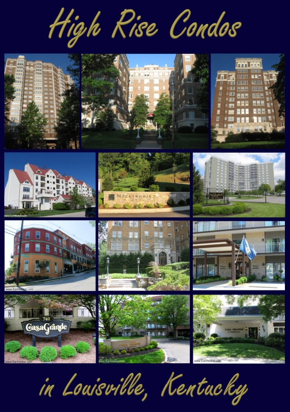 High Rise Condos For Sale in Louisville KY Suburbs